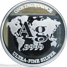 Ultra-fine Proof Silver Round - RWMM - .9999 bullion - 1 troy ounce