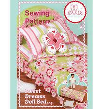 Kwik Sew K105 PATTERN - Sweet Dreams Doll Bed - Ellie Mae Designs - OSZ
