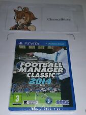 Premier Football Manager Classic 2014 PSV New Sealed UK PAL PlayStation Vita PSV