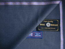 85% WOOL & 15% KID MOHAIR  SUITING FABRIC MADE IN HUDDERSFIELD ENGLAN - 3.4 m.