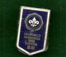 VINTAGE BOY SCOUT - 1971 13th WORLD JAMBOREE NECKERCHIEF SLIDE