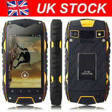 Outdoor JEEP Z6 Smartphone Rugged Android Mobile Phone MTK6572 Quad Core 1.2GHz