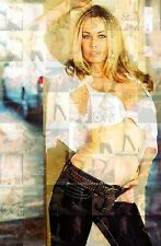 ANITA BLOND photo mosaic cm. 30x41 poster with hundreds of pics of CHRISTY