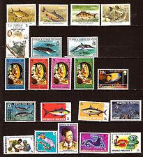 4 ILES ,Irlande,Turks et Caico,Cayman,Maldives, T. neufs , sujets divers F129