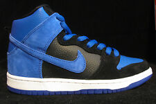 Nike Dunk High Pro SB Size 10 Black Game Royal Blue JPack Skate Shoe 305050-018