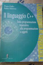 IL LINGUAGGIO C++ - P.GALLO F.SALERNO - MINERVA SCUOLA