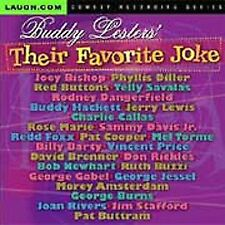 Buddy Lester's Their Favorite Joke by Buddy Lester (CD, May-2005, Laugh.com)