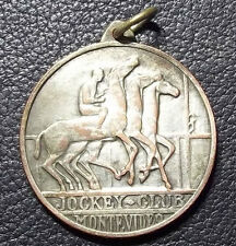 "URUGUAY 1961 ""JOCKEY CLUB"" HORSE RACING TURF DESIGN, MEMBER MEDAL"