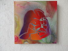 STAR WARS .painting.Darth Vader.storm trooper.hand sprayed.popart.spray art.cool