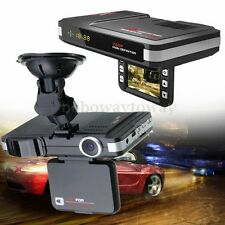 MFP 5MP English&Russian Car DVR Recorder+Radar Laser speed Detector Trafic Alert