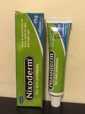 Nixoderm For Skin Problems Eczema, Pimples,Ringworm. 15g Tube USA SELLER