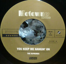 "* * RARE SUPREMES ""YOU KEEP ME HANGIN' ON"" LIMITED EDITION UNPLAYED MINT 45"