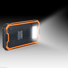 LED Solar Power Bank 20000mah Protable Battery Charger Dual-USB Solar charger