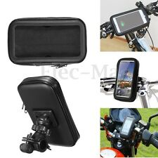 Aseismatic Waterproof Bike Motorcycle Mount Case Holder for 5'' Garmin NUVI GPS