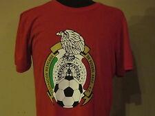 Adidas Mexico National Soccer Team Federacion Mexicana De Futbol T-Shirt Large