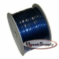 200 Ft - 8 Gauge Power Wire Blue High Quality GA Guage Ground AWG 200 Feet