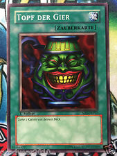 Yu-Gi-OH  TOPF DER GIER SD2-DE017 1.AUFLAGE COMMON  DEUTSCH NM