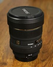 Sigma 12-24mm Wide Angle Zoom Lens for Canon DSLR Cameras, Near Mint Condition