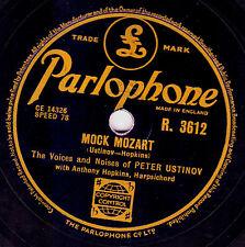 GEORGE MARTIN - PETER USTINOV 78  MOCK MOZART/ PHONEY FOLK-LORE  PARL R 3612 EX