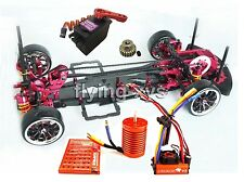 Alloy & Carbon 1 10 SAKURA D3 Drift Racing Frame Kit & SKYRC LEOPARD 60A Combo