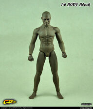 CMTOYS 1:6 Scale Muscle body black (with head HJ004)