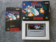 Super Nintendo SNES - Super R-Type - in OVP mit Anleitung