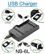 Battery Charger f Canon PowerShot SD770IS SD980IS SD1200IS SD1300IS Digital ELPH