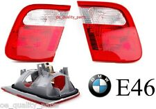 BMW 3 SERIES E46 1998 - 2001 NEW REAR TAIL LIGHT LIGHTS PAIR LEFT + RIGHT SIDE