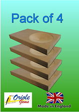 Pack of 4 Budgie nesting concaves