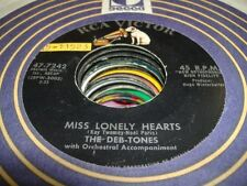 Rock 45 THE DEB-TONES Miss Lonely Hearts on RCA Victor