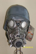 ADULT CHEMICAL WARFARE GAS MASK ROBOT LOOK LATEX FULL MASK COSTUME TB26382
