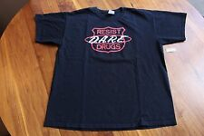 DARE Resist Drugs & Violence Emblem Tee Black L Large T-shirt Rap Band Concert
