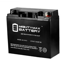 Mighty Max ML18-12 - 12V 18AH UPS Battery Replaces 20Ah BB Battery HR22-12, HR22