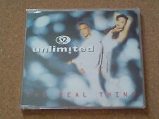 2 UNLIMITED  - THE REAL THING - CD SINGLE