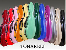 NEW Tonareli Violin Case w Choice of in-stock colors  **AUTHORIZED DISTRIBUTOR**