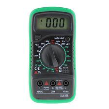 LCD Amperemeter Digital Multimeter Voltmeter AC / DC /OHM Volt Tester Test Strom