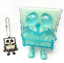Spongebob Key Chain Set Translucent Blue X-Ray Secret Base Figure