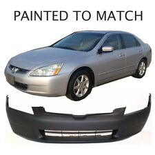 Painted to Match - Fits 2003 2004 2005 Honda Accord Sedan Front Bumper