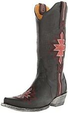New in Box Old Gringo Women's Quanah Black/Pink Boots Size 7 Retail $ 520