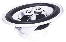 E-Audio Moisture Resistant Ceiling Surround Sound Twin Offset Tweeters Speakers