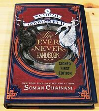SOMAN CHAINANI THE EVER NEVER HANDBOOK SIGNED NEW UNREAD SCHOOL OF GOOD & EVIL