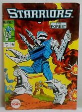 MARVEL 1984 TOMY STARRIORS MINI COMIC # 2 THE FOREST JAPAN PRINTED