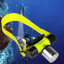 Smart Waterproof CREE T6 LED AAA/18650 Diving 3500Lm Headlamp Headlight Light