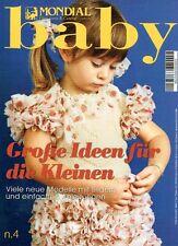 Mondial Filati Lana Cotone # 4 Baby Grosse Idenn für die Kleinen