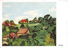 B53677 Paysage D apres un original peint avec la bouche de m Jars Paint   france