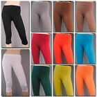 %SALE% CAPRI LEGGINGS 3/4 Baumwolle leggins Hose legins rock kleid B30