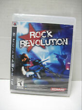 Rock Revolution  (Sony Playstation 3, 2008) Game Only New/Sealed
