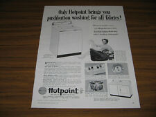 1955 Vintage Ad Hotpoint Automatic Dryers TV Actress Harriet Nelson