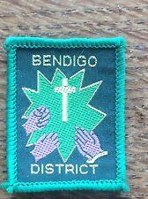 Vintage Cloth Patch Scout Badge Scouting Memorabilia Bendigo Victoria