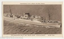 Union Castle Royal Mail Motor Vessel Stirling Castle Shipping Postcard #2, B521
